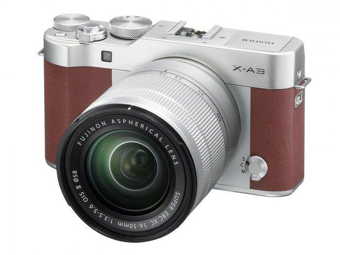 Kamera Mirrorless Fujifilm X-A3, Image Credit : Fujifilm