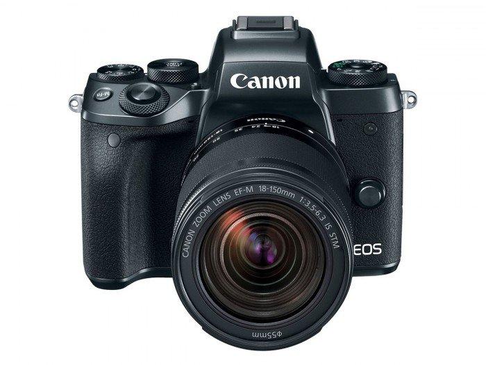 Kamera Mirrorless Terbaru Canon M5 (depan), Image Credit: Canon