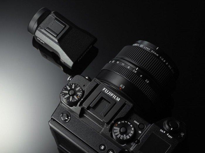 Kamera Fujifilm GFX 50S (EVF), Image CreditL Fujifilm