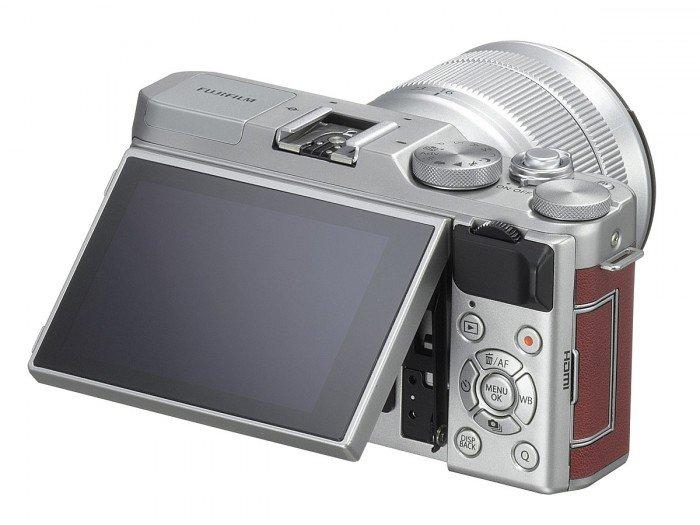 Kamera Mirrorless Fujifilm X-A3 (Belakang), Image Credit : Fujifilm