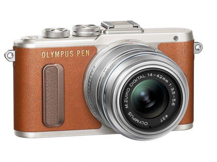 Kamera Olympus E-PL8 (Coklat), Image Credit: Olympus