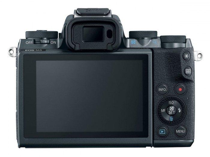 Kamera Mirrorless Terbaru Canon M5 (belakang), Image Credit: Canon