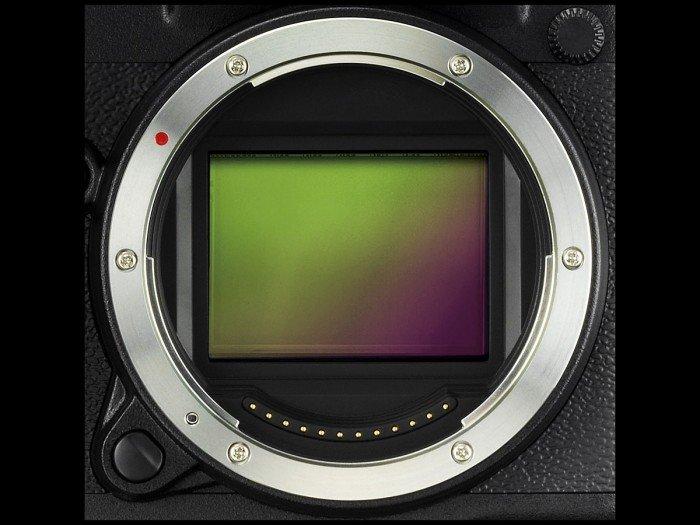 Kamera Fujifilm GFX 50S (Sensor), Image CreditL Fujifilm
