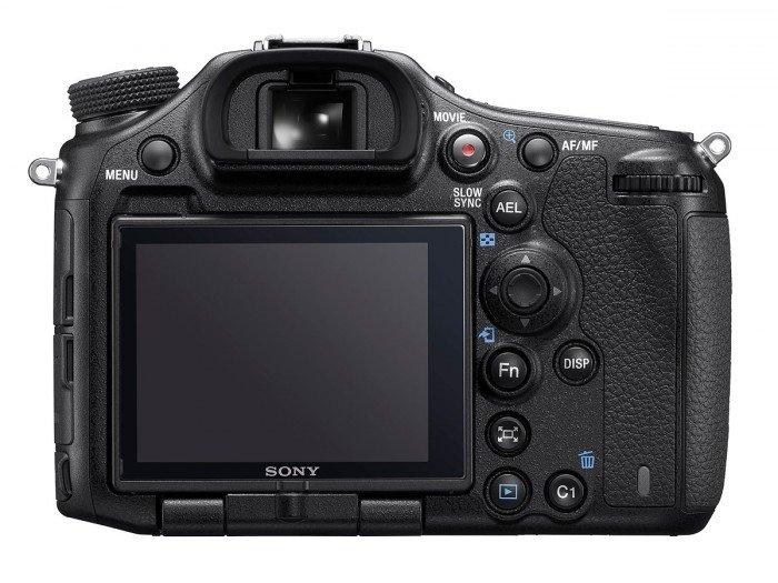 Kamera Sony A99 Mark II (Belakang), Image Credit: Sony