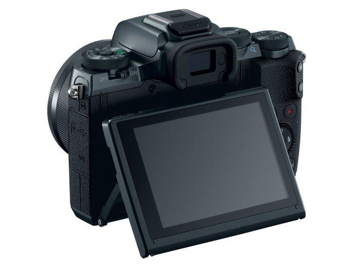 Kamera Mirrorless Terbaru Canon M5 (lcd), Image Credit: Canon