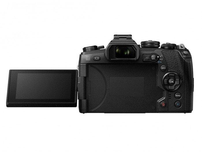 Kamera Olympus E-M1 Mark II (Belakang), Image Credit: Olympus