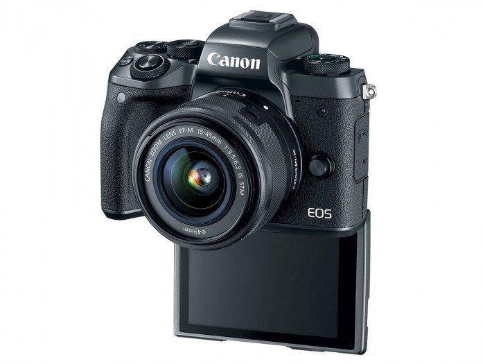 Kamera Mirrorless Terbaru Canon M5 (pojok), Image Credit: Canon