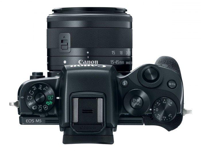 Kamera Mirrorless Terbaru Canon M5 (atas), Image Credit: Canon