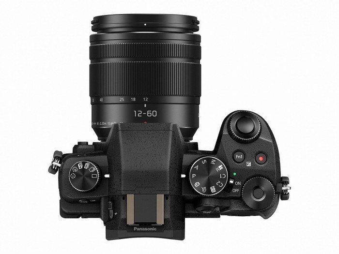Kamera Panasonic G85 / G80 (Atas), Image Credit: Panasonic