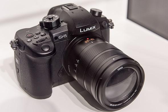 Kamera Panasonic GH5 (prototipe), Image Credit: Panasonic