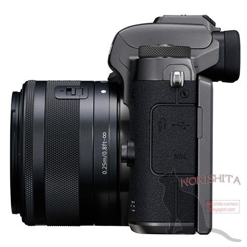Kamera Canon M5 (Kiri)