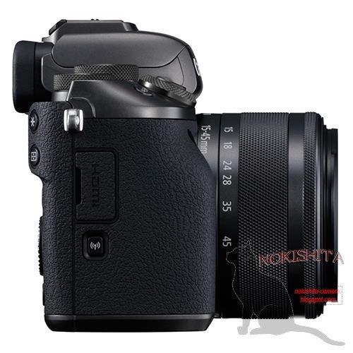 Kamera Canon M5 (Kanan)