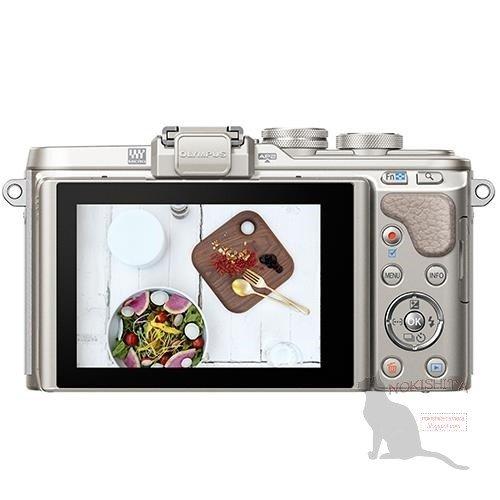 Kamera Terbaru Olympus E-PL8 (Belakang)