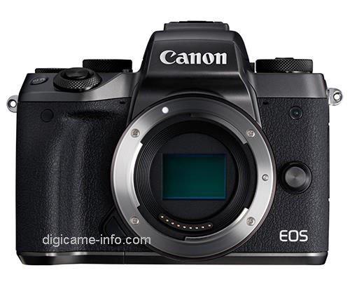 Kamera Canon M5 (Depan)