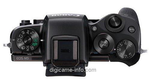 Kamera Canon M5 (Atas)
