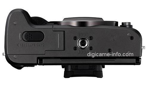 Kamera Canon M5 (Bawah)