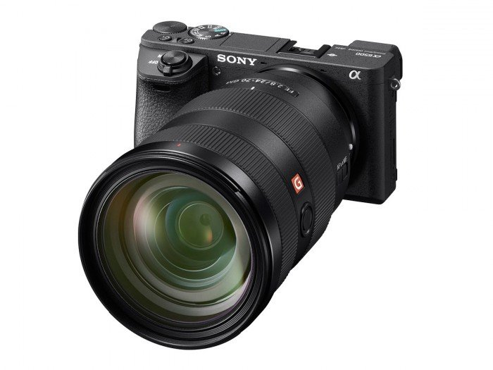 Kamera Sony a6500 (depan), Image Credit: Sony