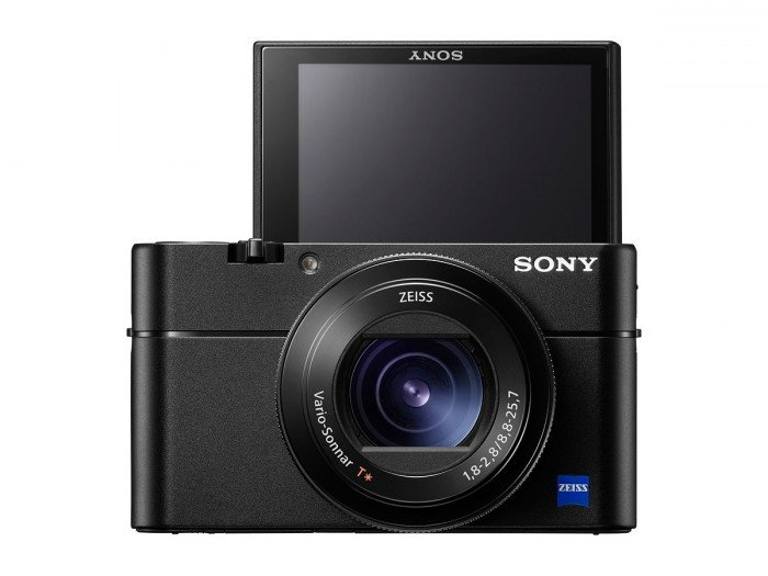 Kamera Sony RX100 Mark V (selfie LCD), Image Credit : Sony