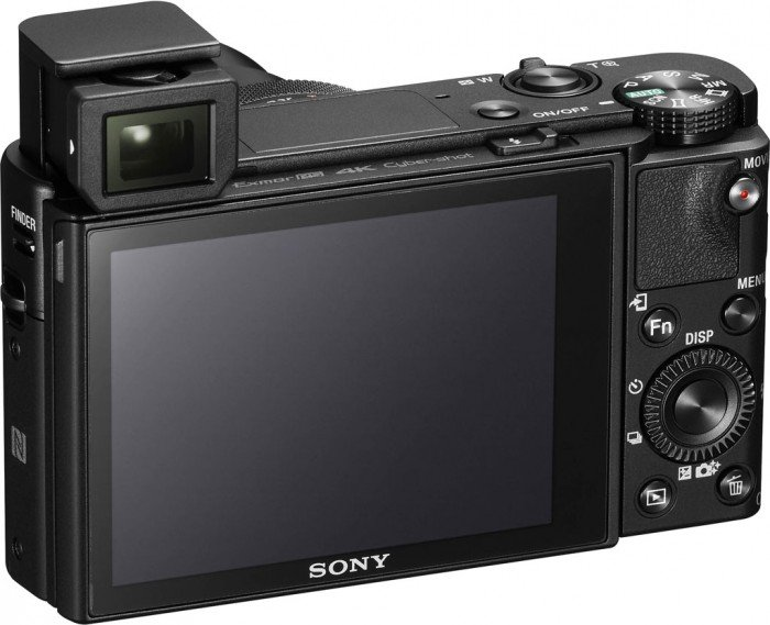 Kamera Sony RX100 Mark V (belakang popup EVF), Image Credit : Sony