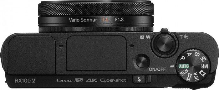 Kamera Sony RX100 Mark V (atas), Image Credit : Sony