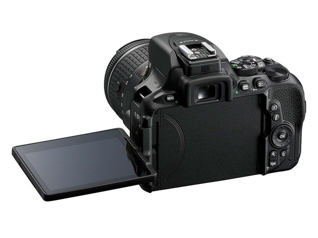 Kamera Nikon D5600 (Belakang), Image Credit : NIkon