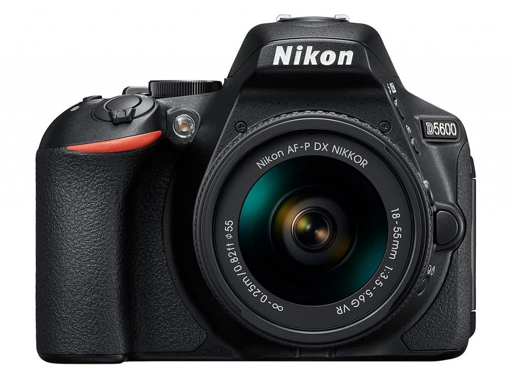 Kamera Nikon D5600 (Depan), Image Credit : NIkon