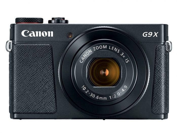 Kamera Canon G9 X Mark II (Depan), Image Copyright: Canon