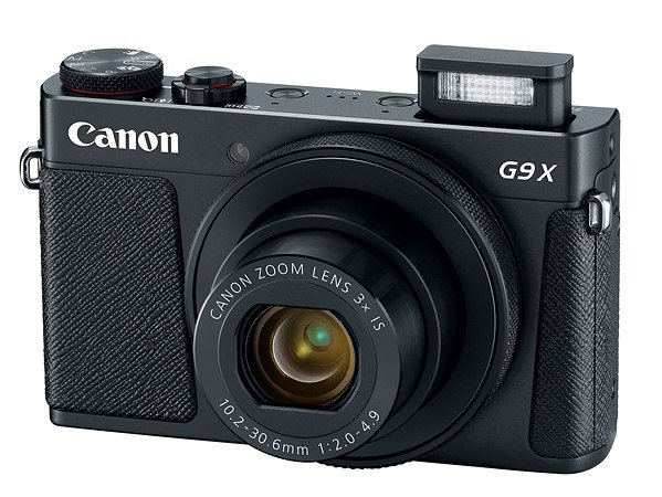 Kamera Canon G9 X Mark II (Hitam), Image Copyright: Canon