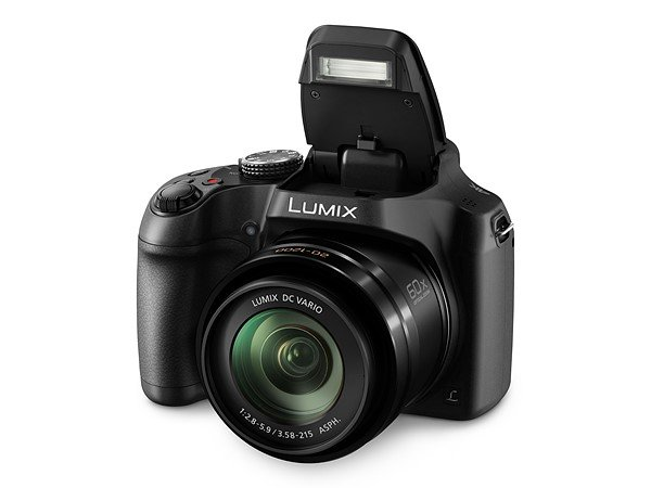 Kamera Panasonic FZ80 / FZ82 (Flash), Image Credit: Panasonic