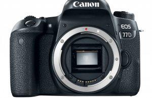 Kamera Canon 77D