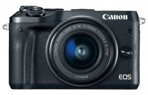 Kamera Mirrorless Canon M6