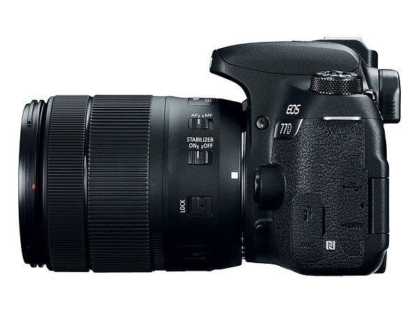 Kamera Canon 77D (Kiri), Image Credit: Canon