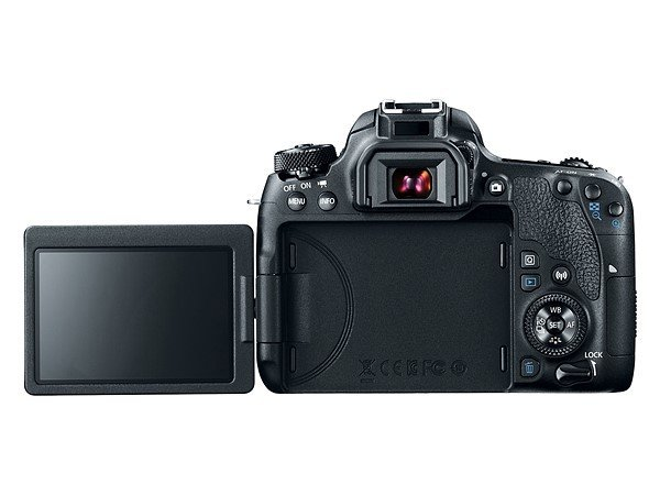 Kamera Canon 77D (LCD flip), Image Credit: Canon