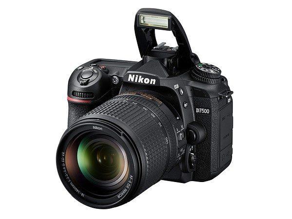 Kamera Nikon D7500 (Flash), Image Credit: Nikon
