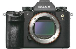 Kamera Sony A9 (Depan), Image Credit: Sony