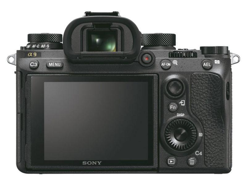 Kamera Sony A9 (Belakang), Image Credit: Sony