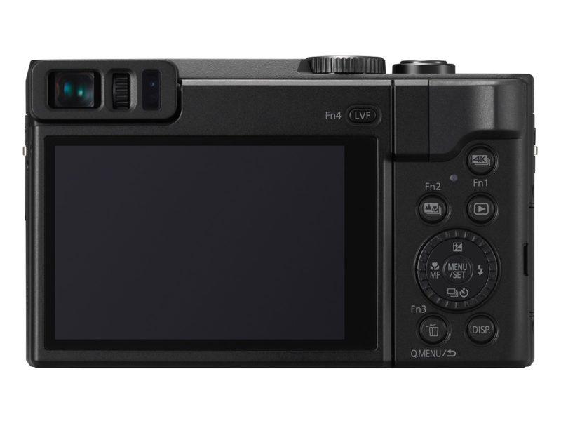Kamera Panasonic TZ90 (Belakang), Image Credit : Panasonic