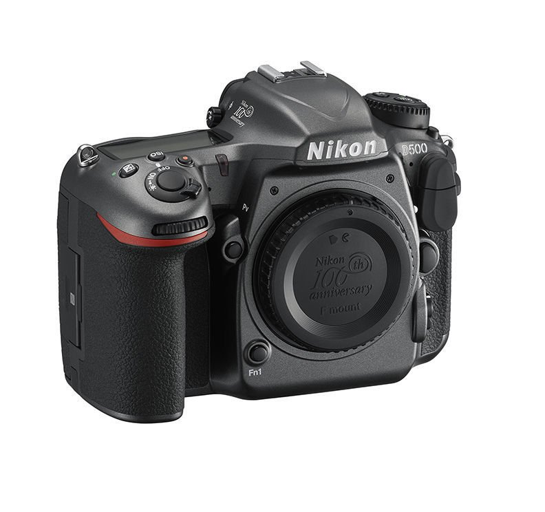 Nikon D500 Edisi Ulang Tahun 100th (Belakang), Image Credit : Nikon