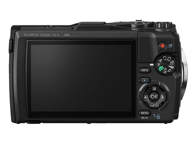 Kamera Olympus TG-5 (Belakang), Image Credit: Olympus