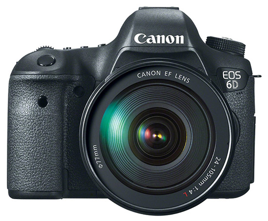 Kamera Canon 6D, Image Credit: Canon