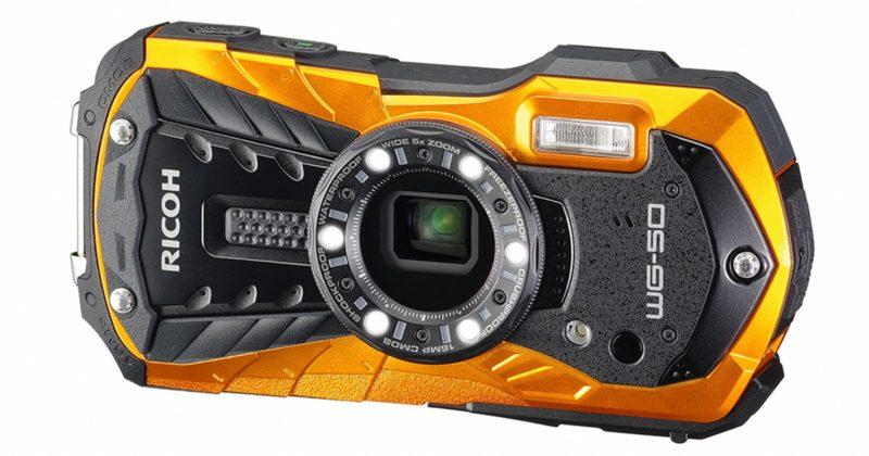 Kamera Ricoh WG-50 (Orange), Image Credit: Ricoh