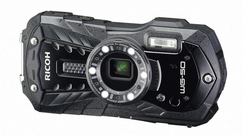 Kamera Ricoh WG-50 (Hitam), Image Credit: Ricoh