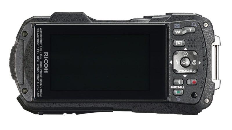 Kamera Ricoh WG-50 (Belakang), Image Credit: Ricoh