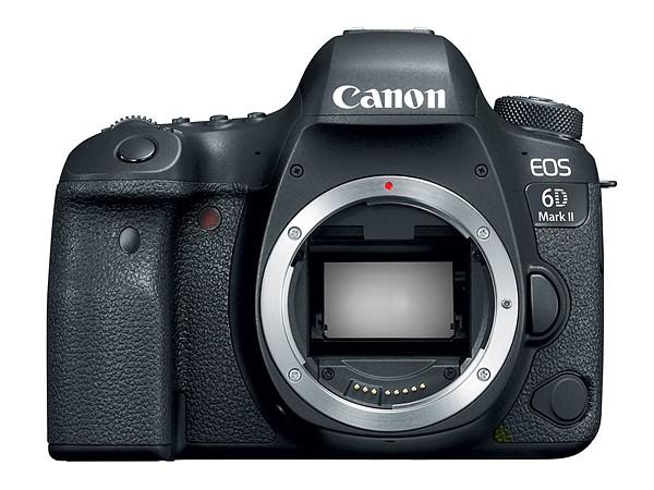 Canon EOS 6D Mk II (Depan), Image Credit: Canon