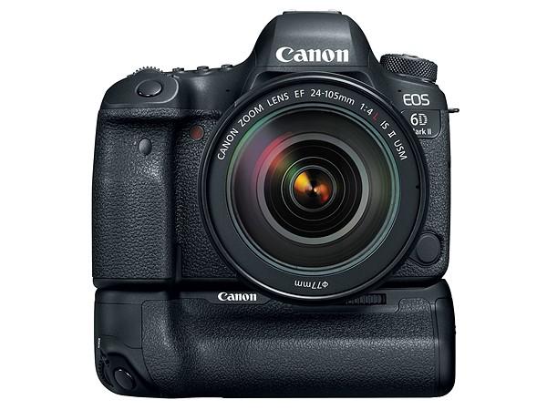 Canon EOS 6D Mk II (Baterai Grip), Image Credit: Canon