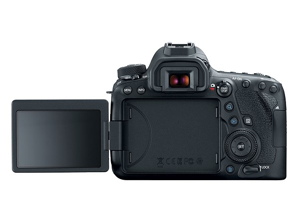 Canon EOS 6D Mk II (Belakang LCD Flip), Image Credit: Canon