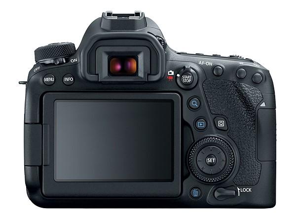 Canon EOS 6D Mk II (Belakang), Image Credit: Canon