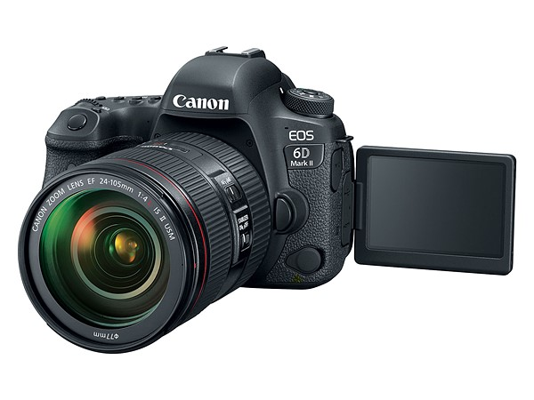 Canon EOS 6D Mk II (LCD), Image Credit: Canon