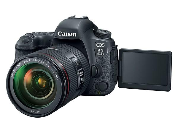 Canon EOS 6D Mk II (LCD), Image Credit: Canon