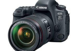 Canon EOS 6D Mk II, Image Credit: Canon